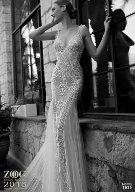 שמלת כלה עם כתפיות כפולות