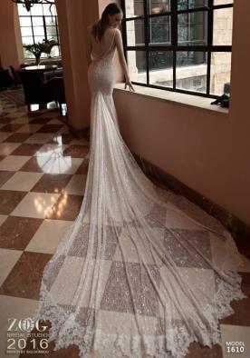 שמלת כלה שובל שקוף