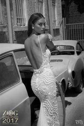 שמלת כלה שובל טול נוצץ