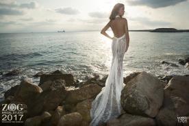 שמלת כלה בת הים נוצצת