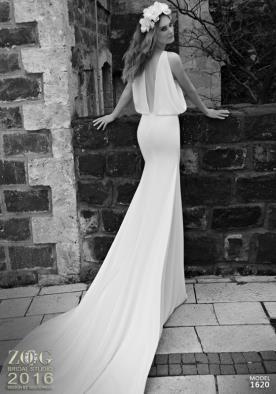 שמלת כלה נשפכת כתפיות עבות
