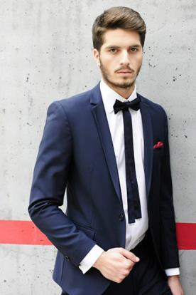 חליפת חתן- בלייזר עם כיס עליון