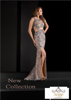 שמלת ערב נועזת עם שסע