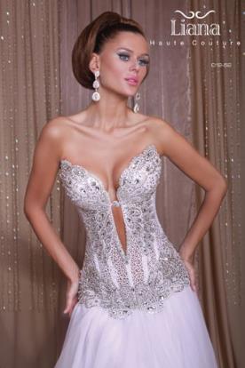 שמלת כלה עם מחוך למראה מלכותי