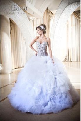 שמלת כלה מרשימה למראה קסום