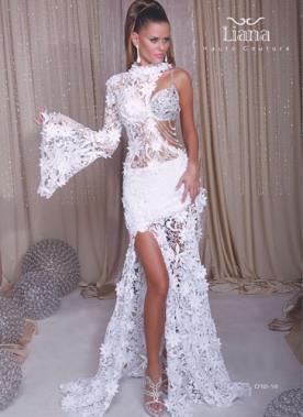 שמלת תחרה למראה סקסי נועז