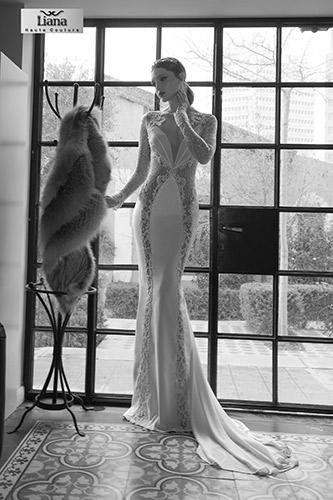 שמלת כלה אלגנטית מודרנית