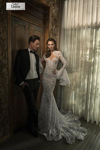 שמלת כלה בעיצוב ספרדי