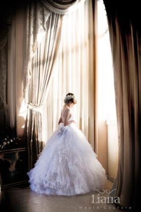 שמלת כלה פעמון נסיכותית לכלה