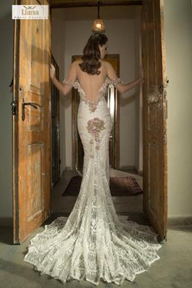 שמלת כלה מעוטרת למראה מופתי