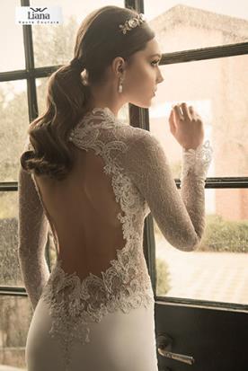 שמלת כלה בעיצוב מודרני רומנטי