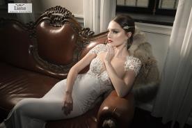 שמלת כלה בעיצוב רומנטי