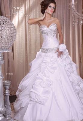 שמלת כלה נסיכותית לכלה המפוארת