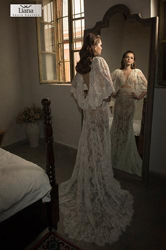 שמלת כלה רומנטית בעיצוב רך