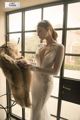 שמלת כלה נוצצת למראה מופתי