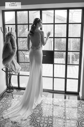 שמלת כלה מקסי למראה מופתי