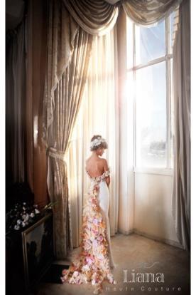 שמלת הוט קוטור אביבית לכלה
