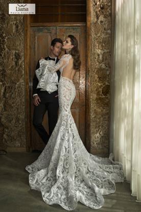 שמלת כלה תחרה למראה מופתי