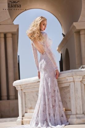 שמלת כלה תחרה קלאסית אלגנטית