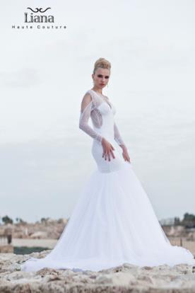 שמלת כלה בעיצוב מודרני מתוחכם