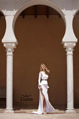 שמלת כלה מפוסלת בעיצוב מודרני