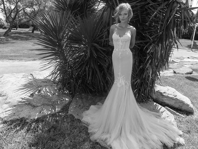 שמלת מקסי מקסי צמודה רומנטית