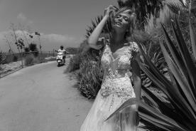 שמלה כלה נסיכותית עם טאץ מודרני