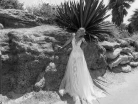 שמלת כלה אמפייר בסגנון רומנטי