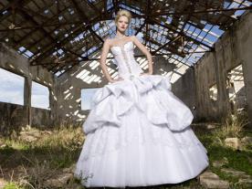 שמלת כלה אוונגארדית