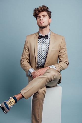 חליפת חתן בסגנון אורבני