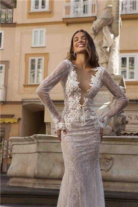 שמלות ערב עם פליסה