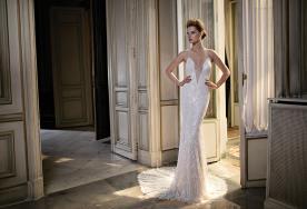 שמלת כלה דוגמה מחורזת