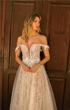 שמלה כלה נסיכותית