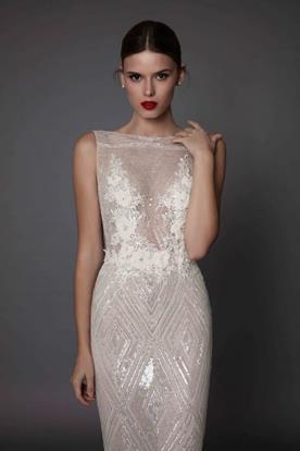 שמלת כלה עם פייטים