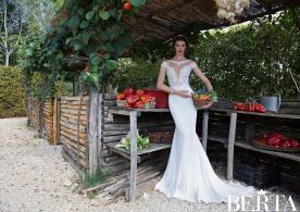 שמלת כלה רומנטית תרחה ורשת