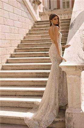 שמלת ערב גזרה A
