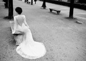 שמלת כלה מקסי ושרוולים