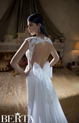 שמלת כלה פפיון אורגנזה