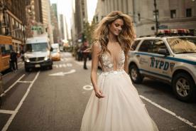 שמלת כלה עם טול ורדרד
