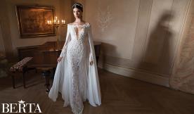 שמלת כלה מחשוף משולש