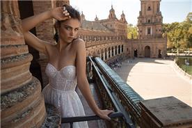 שמלת כלה ללא כתפיות