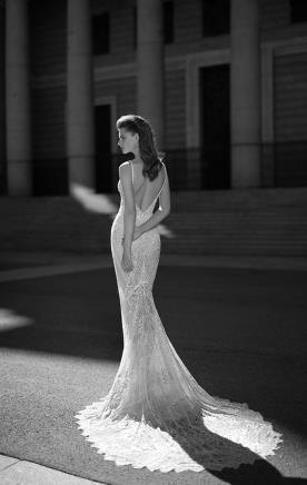 שמלת כלה שובל מחורז ארוך