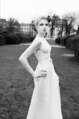 שמלת כלה פפיון טול