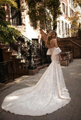שמלת כלה הוט קוטור שובל ארוך