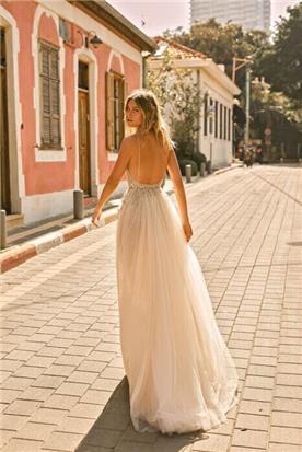 שמלת כלה רומנטית קלאסית
