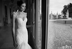 שמלת כלה קטור כתפיות קשירה