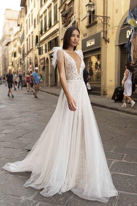 שמלות ערב עם תחרה