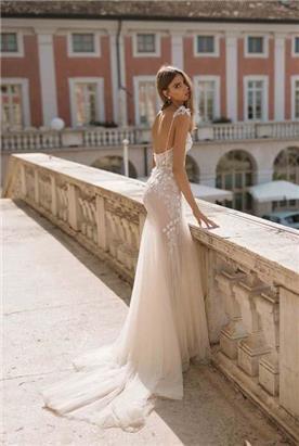 שמלת ערב עם שני חלקים
