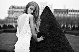 שמלת כלה עם חרוזים גדוילם