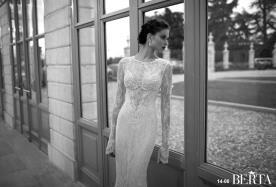 שמלת כלה תחרה ארוכה